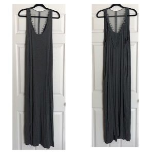 Suzanne Betro Maxi Dress with Pockets